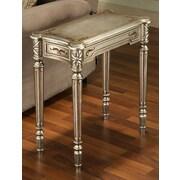 Accent Treasures Venice Accent Table; Silver