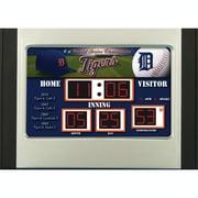 Team Sports America MLB Scoreboard Desk Clock; Chicago Cubs