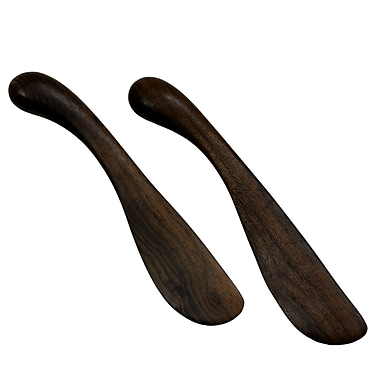 Novica Peten Wood Artisan Sculptors Artisan Spreader (Set of 2)