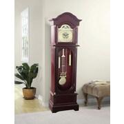 Jenlea Daniel Dakota 71.63'' Grandfather Clock; Cherry