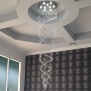 LightUpMyHome 9 Light Crystal Chandelier
