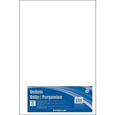 Staedtler® – Papier vélin, 11 po x 17 po, paq./50 feuilles