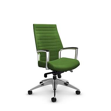 Global Accord High Back Knee Tilter, Match Green Fabric (Green)
