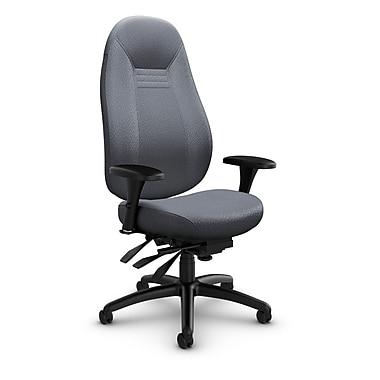 Global Obusforme Comfort High Back Multi-Tilter, Match Grey Fabric (Grey)