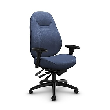Global Obusforme Comfort 24-Hour Mid Back Multi-Tilter, Match Fabric