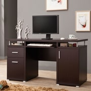 Wildon Home   Computer Desk; Cappuccino