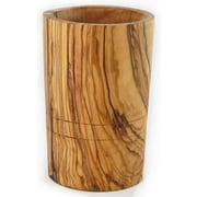 Le Souk Ceramique Olive Wood Utensil Holder