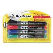 Quartet Dry-Erase Markers in Four Assorted Colors