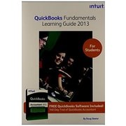 QuickBooks Fundamentals Learning Guide 2013 for Students, Used Book (9781573381161)