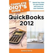 The Complete Idiot's Guide to QuickBooks 2012 Used Book (9781615641178)