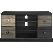 "Altra Blackburn 50"" TV Console with Multicolored Door Fronts, Black"