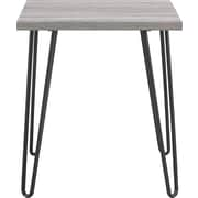 Altra™ Owen Retro End Table, Sonoma Oak with Gunmetal Gray Metal Legs (5068196PCOM)
