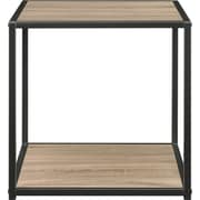 Altra Canton Accent Table with Metal Frame, Sonoma Oak