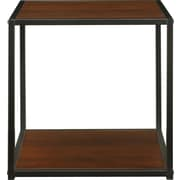 Altra Canton Accent Table with Metal Frame, Cherry