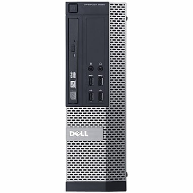 Dell - PC de table Optiplex 3010 SFF remis à neuf, Intel Core i5 3470, 4 GHz, RAM 4Go, DD 500Go, DVD, Win 10 Pro