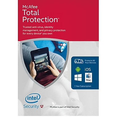 McAfee 2016 Total Protection, Unlimited Devices [Download]