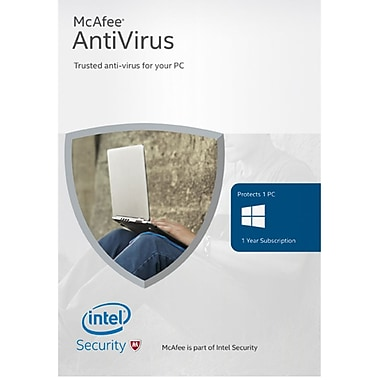 McAfee 2016 Antivirus Basic, 1 Device [Download]