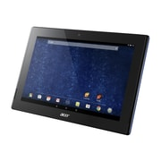 "Acer ICONIA Tab 10 A3-A30-18P1 Tablet, 10.1"", Android 5.0 (Lollipop), 16 GB, NT.L9YAA.001, Black/Blue"
