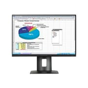 "HP® Z24n 24"" Narrow Bezel IPS Display LED LCD Monitor, Black"