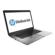 "HP EliteBook 850 P0C67UT#ABA 15.6"" Screen, Intel A4 2.2GHz, 256GB SSD, 8GB RAM, Windows Laptop, Black"