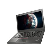 "Lenovo ThinkPad T450 20BV, 14"" HD+ Display, Intel Core i7 5600U, 256 GB SSD, 8 GB RAM, Windows 7 Ultrabook, Black"