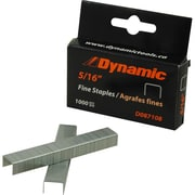 "Dynamic Tools 5/16"" Fine Staples, 1,000/pack"