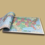 Universal Map U.S. and World Study Map Pad