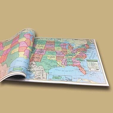 Universal Map U.S. Study Map Pad
