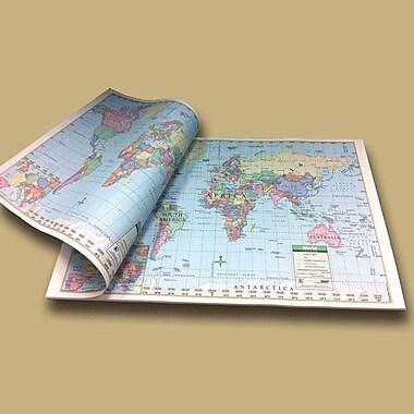 Universal Map World Study Map Pad