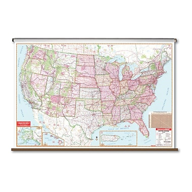 Universal Map Large Scale Wall Map - United States