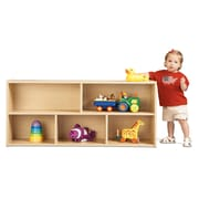 Young Time Toddler Two Shelf Storage Unit; Assembled