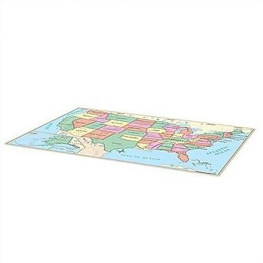 Universal Map Beginner Floor Map Vinyl - U.S.