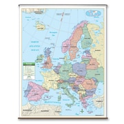 Universal Map Primary Wall Map - Europe