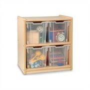 Whitney Bros. Jumbo 2 Compartment Cubby