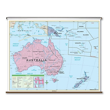 Universal Map Essential Wall Map - Australia