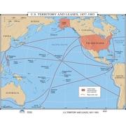 Universal Map U.S. History Wall Maps - U.S. Territory & Leases