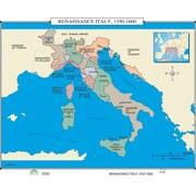 Universal Map World History Wall Maps - Renaissance Italy