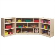Steffy Three-Shelf Mobile Storage Unit