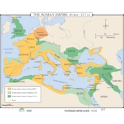 Universal Map World History Wall Maps - Growth of Roman Empire