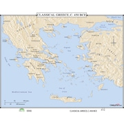 Universal Map World History Wall Maps - Classical Greece
