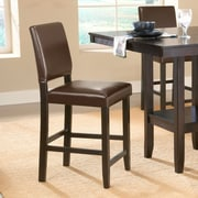 Hillsdale Arcadia 24.5'' Bar Stool with Cushion (Set of 2)