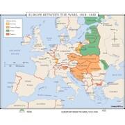 Universal Map World History Wall Maps - Europe Between Wars