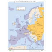Universal Map World History Wall Maps - Cold War Europe