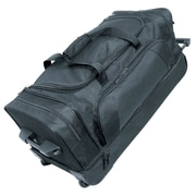 Netpack 30'' 2-Wheeled Rocky Travel Duffel; Black
