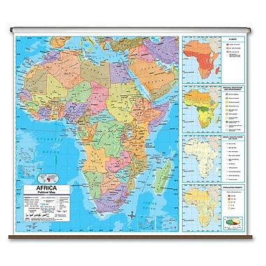 Universal Map Advanced Political Map - Africa