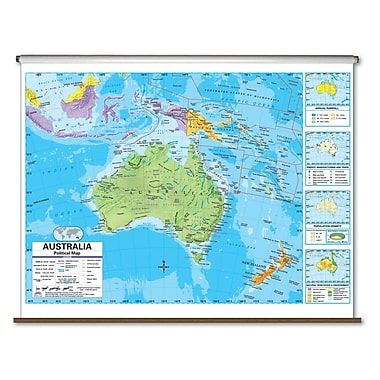 Universal Map Advanced Political Map - Australia