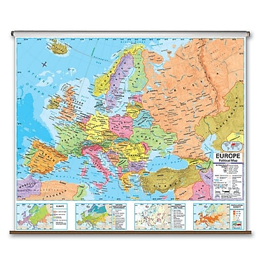 Universal Map Advanced Political Map - Europe