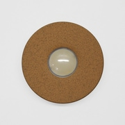 HouseArt Artist Series Doorbell Button; Terra Rust