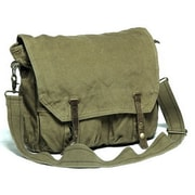 Vagabond Traveler Messenger Bag; Light Green