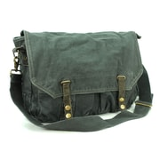 Vagabond Traveler Messenger Bag; Blue Grey